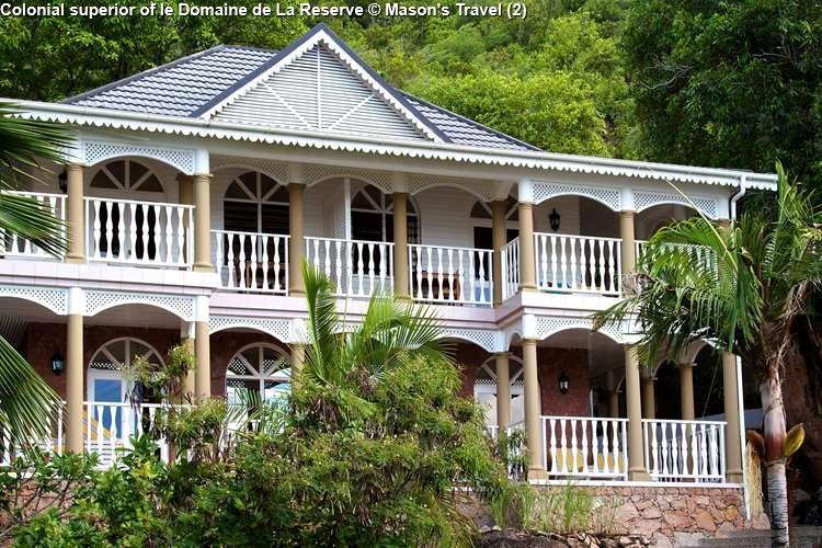 Colonial superior of le Domaine de La Reserve (Praslin)