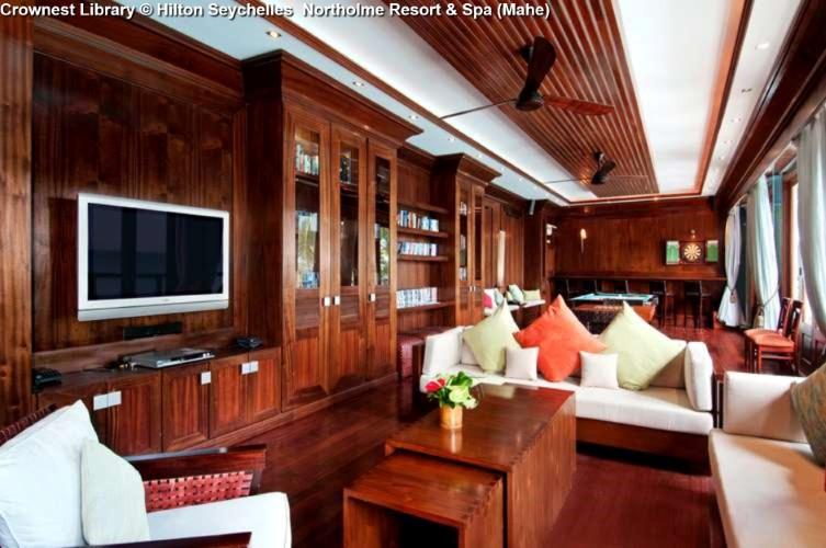 Crownest Library © Hilton Seychelles Northolme Resort & Spa (Mahe)