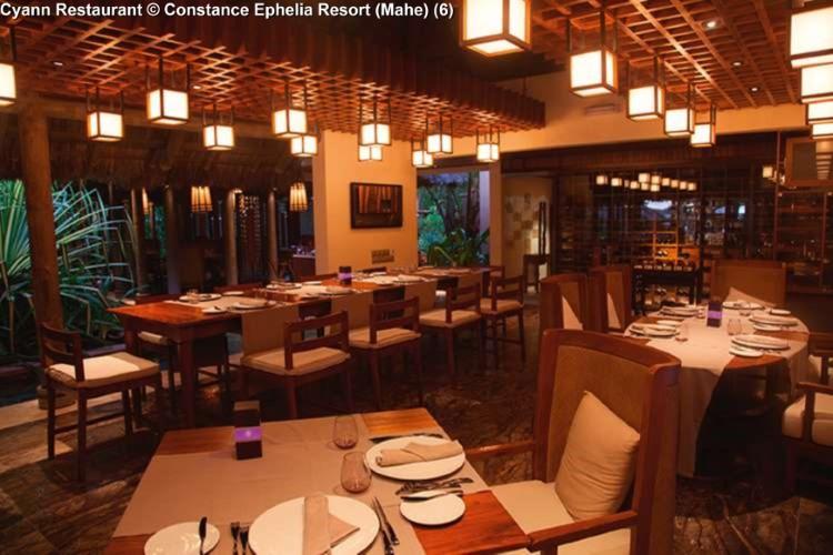 Cyann Restaurant © Constance Ephelia Resort (Mahe)