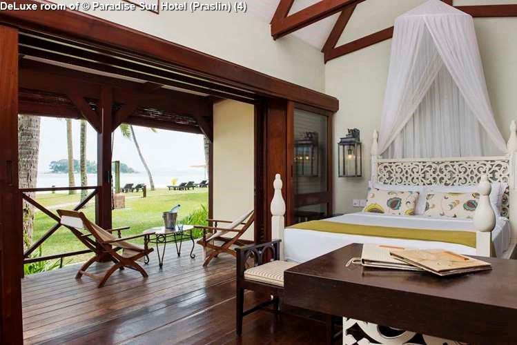 DeLuxe room of Paradise Sun Hotel (Praslin)