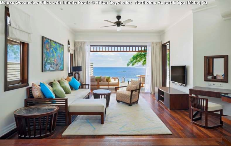 Deluxe Oceanview Villas with Infinity Pools © Hilton Seychelles Northolme Resort & Spa (Mahe) (2)