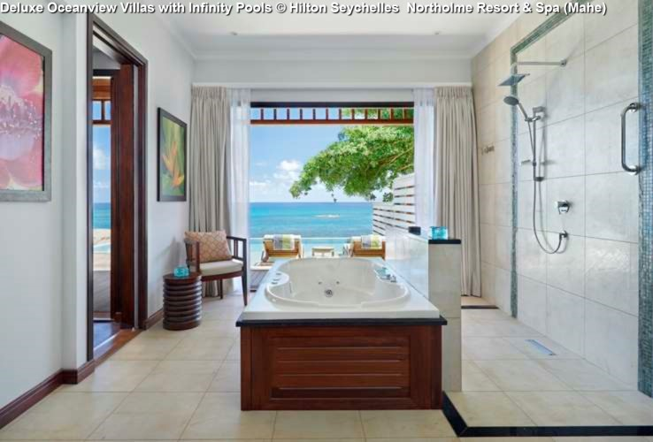 Deluxe Oceanview Villas with Infinity Pools © Hilton Seychelles Northolme Resort & Spa (Mahe)