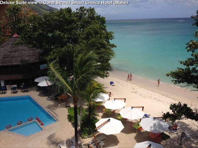 View from Deluxe Suite © Coral Strand Smart Choice Hotel (Mahé)