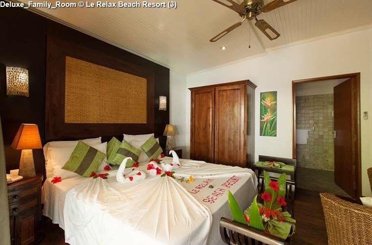 DeLuxe Family Room of Le Relax Beach Resort (Praslin)