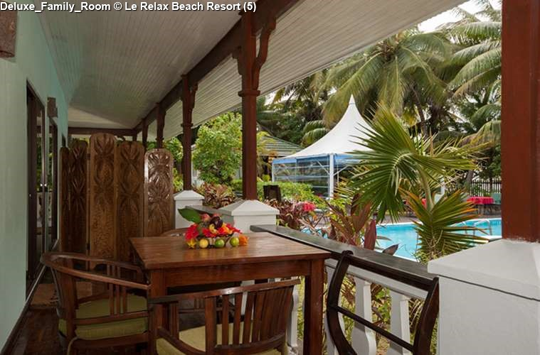 DeLuxe Family Room of Le Relax Beach Resort (Praslin)