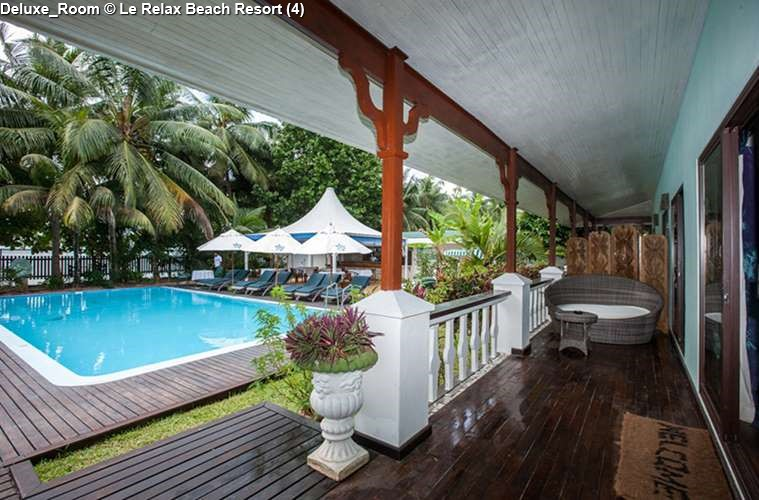 DeLuxe Room of Le Relax Beach Resort (Praslin)