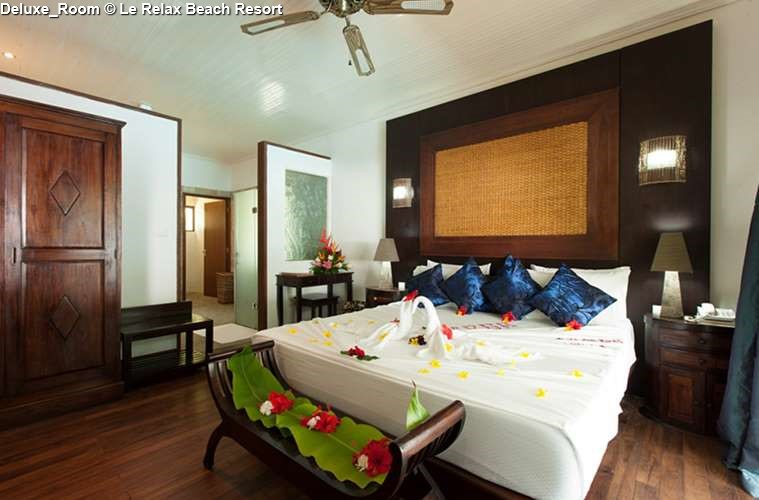 DeLuxe Room of Le Relax Beach Resort (Praslin)
