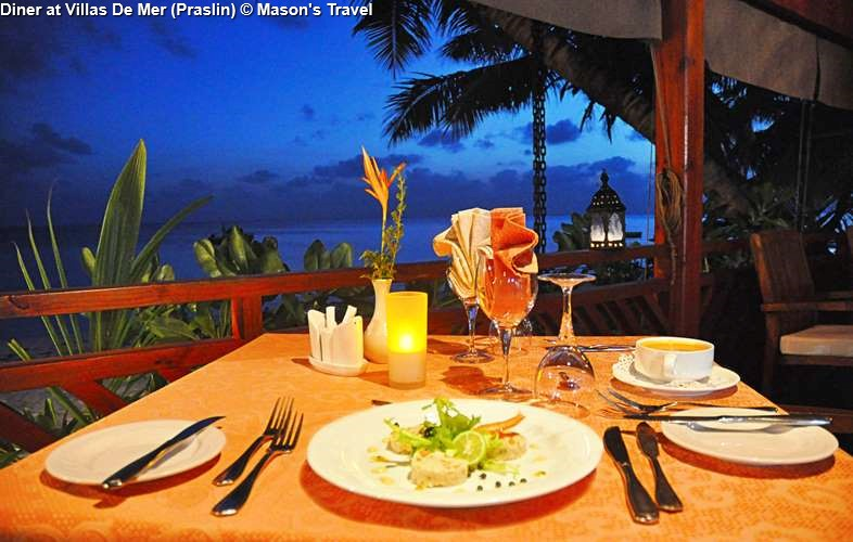 Dinner at Villas De Mer (Praslin)