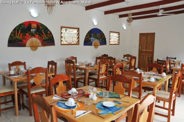 Dining Hall © La Fontaine Holiday Apartment (Mahe)