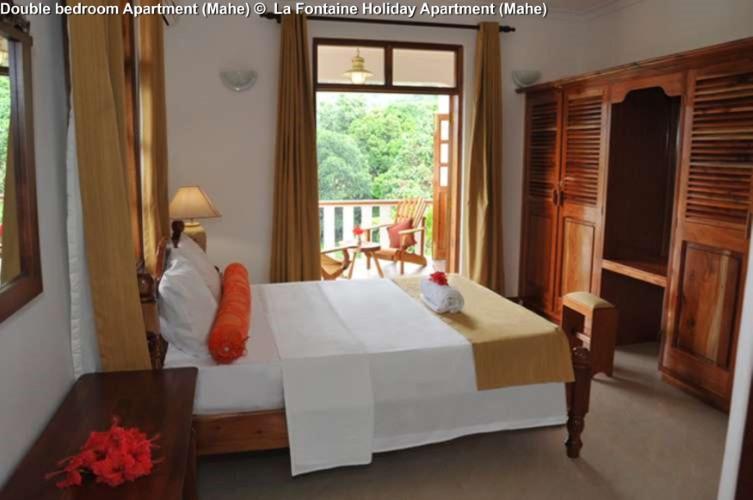 Double bedroom Apartment (Mahe) © La Fontaine Holiday Apartment (Mahe)