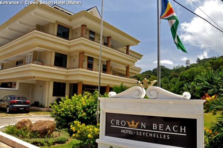 Entrance © Crown Beach Hotel (Mahe)