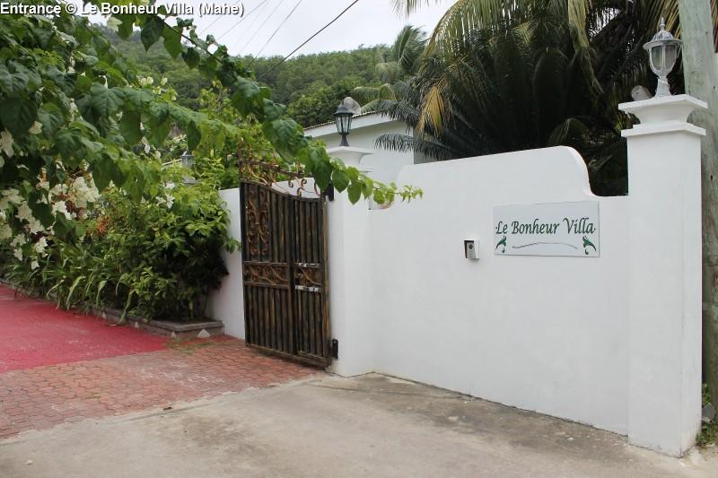 Entrance © Le Bonheur Villa (Mahe)