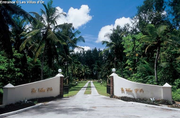 Entrance Les Villas d'Or (Praslin)