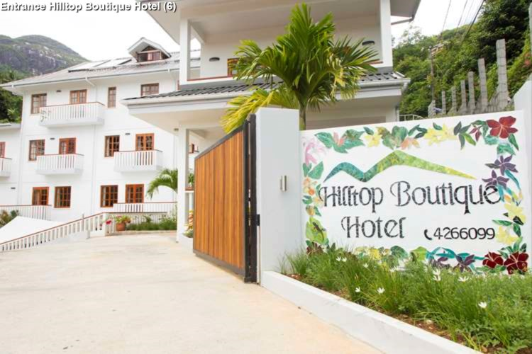 Entrance Hilltop Boutique Hotel