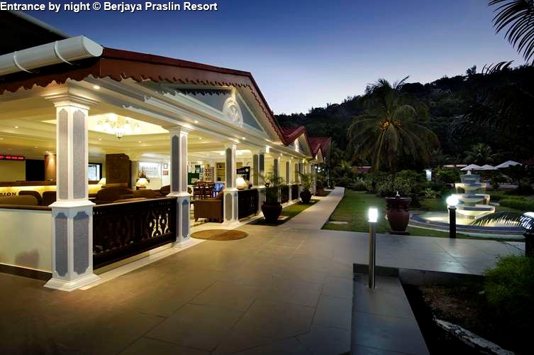 Entrance Berjaya Praslin Resort