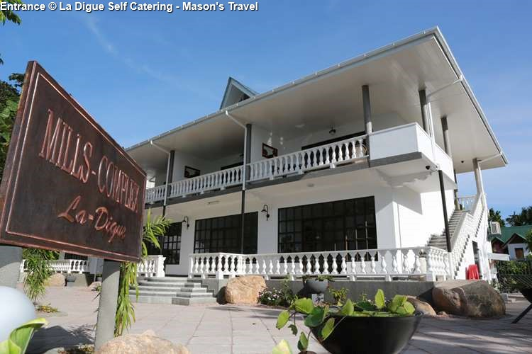 Entrance La Digue Self Catering