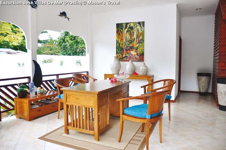 Excursion desk Villas De Mer (Praslin)