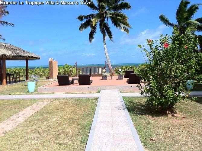 Exterior Le Tropique Villa (Praslin)