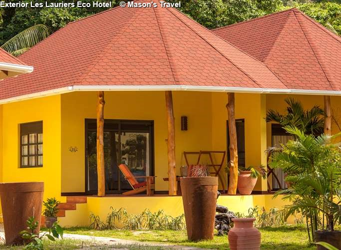 Exterior Les Lauriers Eco Hotel (Praslin)