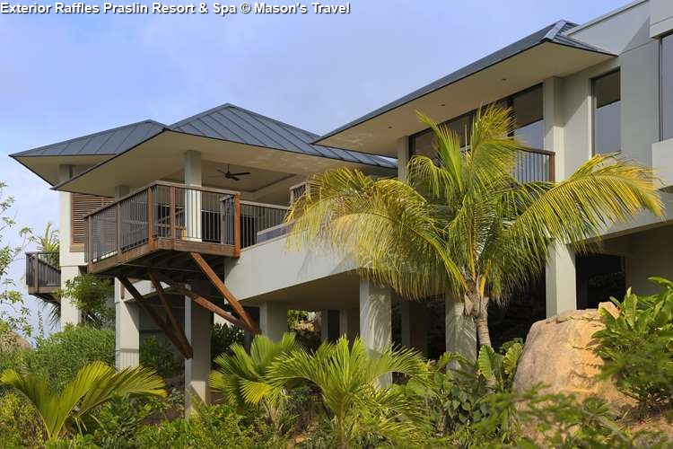 Exterior Raffles Praslin Resort & Spa (Praslin)