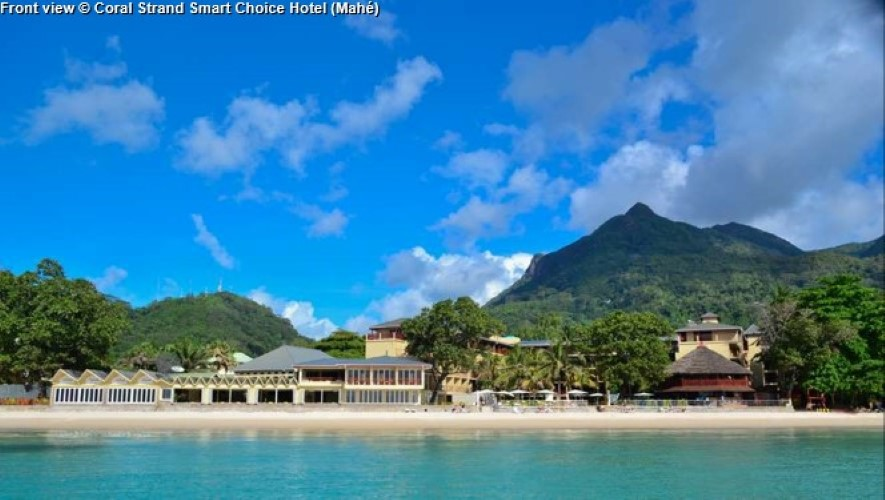 Front view © Coral Strand Smart Choice Hotel (Mahé)