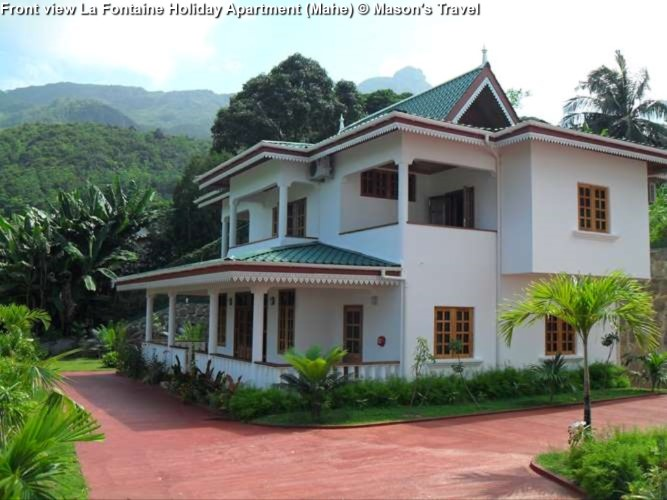 Front view La Fontaine Holiday Apartment (Mahe)