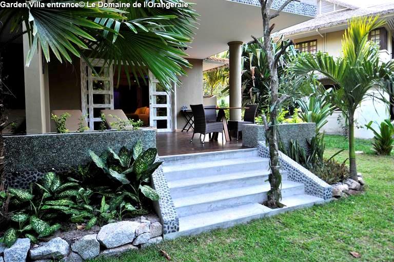 Garden Villa entrance