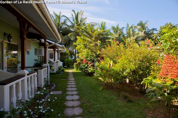 Garden of Le Relax Beach Resort (Praslin)