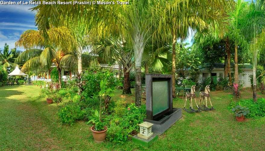 Garden of Le Relax Beach Resort (Praslin)