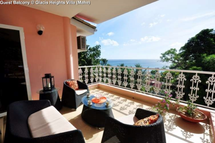 Guest Balcony © Glacis Heights Villa (Mahe)