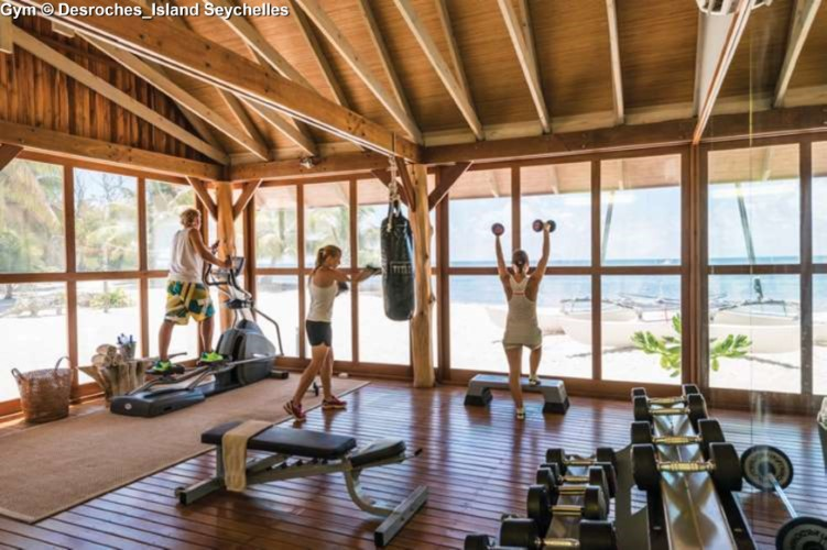 Gym of Desroches_Island Seychelles