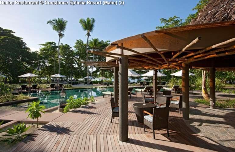 Helios Restaurant © Constance Ephelia Resort (Mahe)
