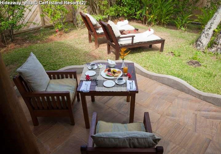 Hideaway villa Cerf Island Resort