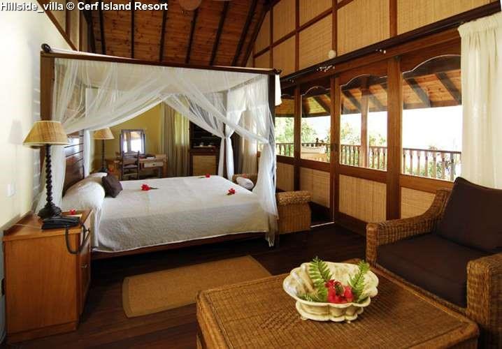 Hillside villa Cerf Island Resort