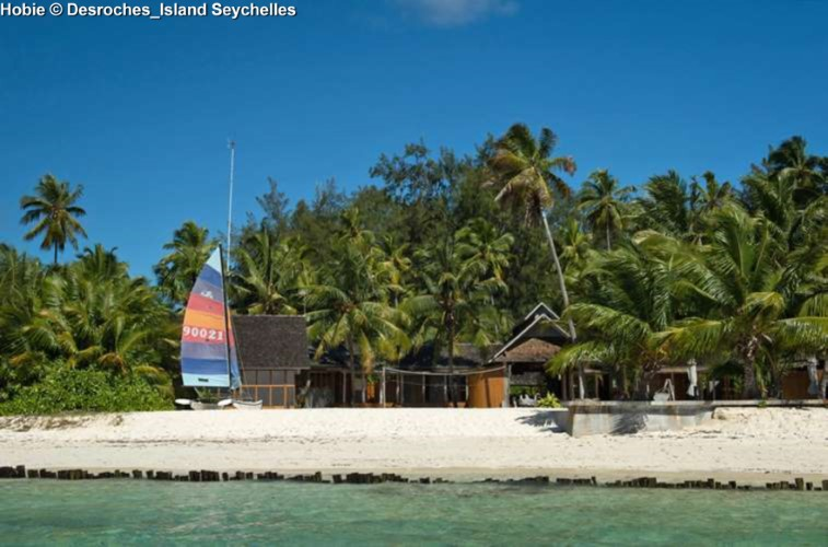 Watersport center of Desroches_Island Seychelles