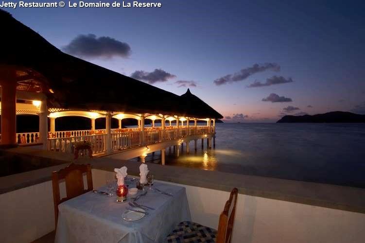 Jetty Restaurant of le Domaine de La Reserve (Praslin)