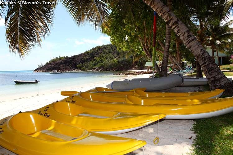 Kayak at Hotel L'Archipel (Praslin)
