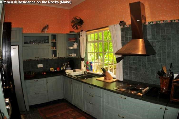 Kitchen © Residence on the Rocks (Mahe)