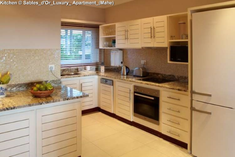 Kitchen © Sables_d'Or_Luxury_ Apartment_(Mahe)