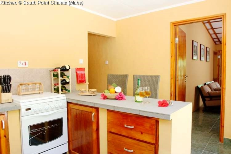 Kitchen © South Point Chalets (Mahe)