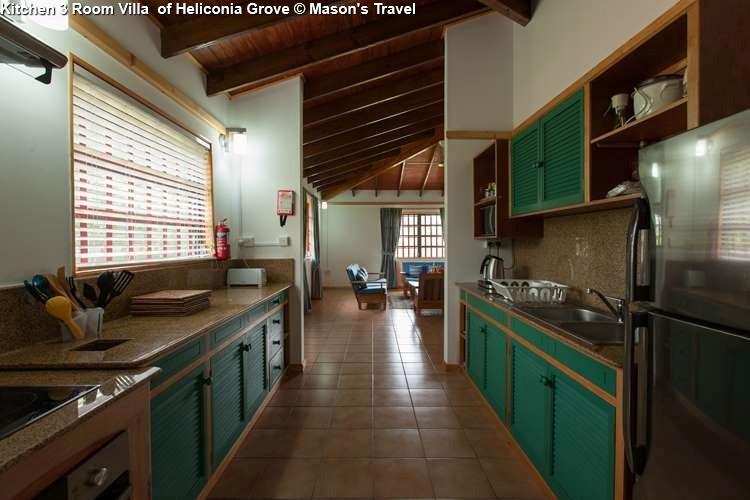 Kitchen 3 Room Villa of Heliconia Grove (Praslin)