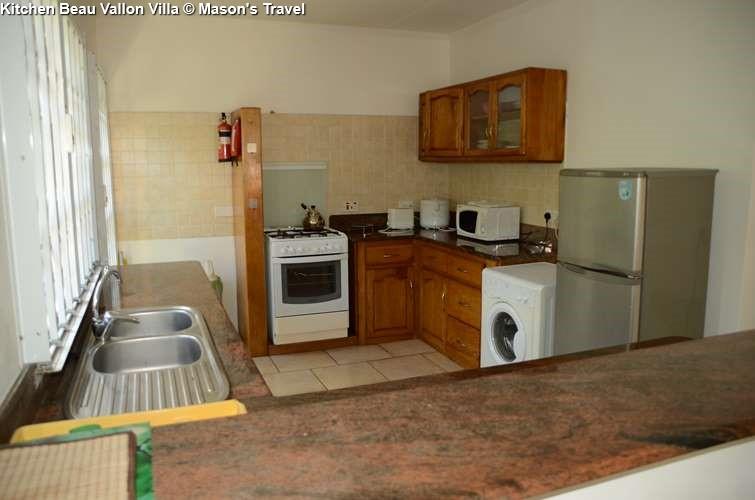 Kitchen Beau Vallon Villa