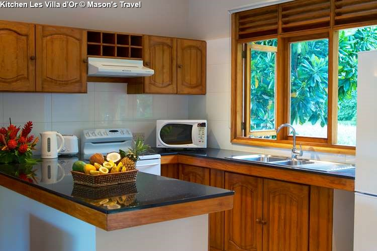 Kitchen Les Villas d'Or (Praslin)