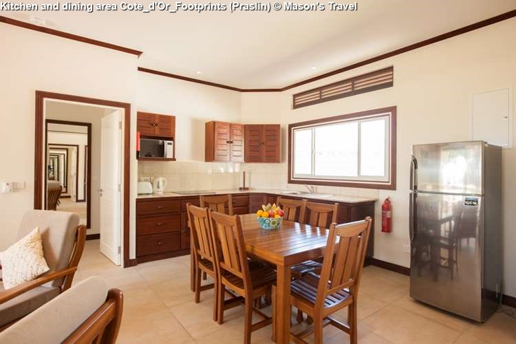 Kitchen and dining area Cote_d'Or_Footprints (Praslin)