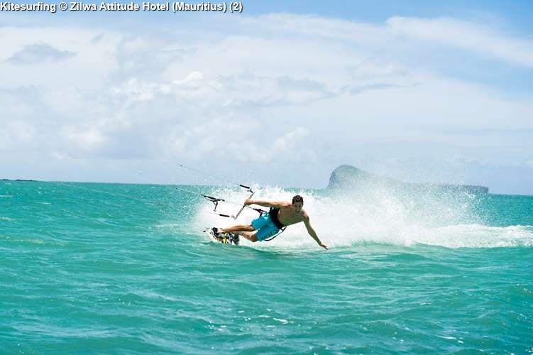 Kitesurfing Zilwa Attitude Hotel (Mauritius)