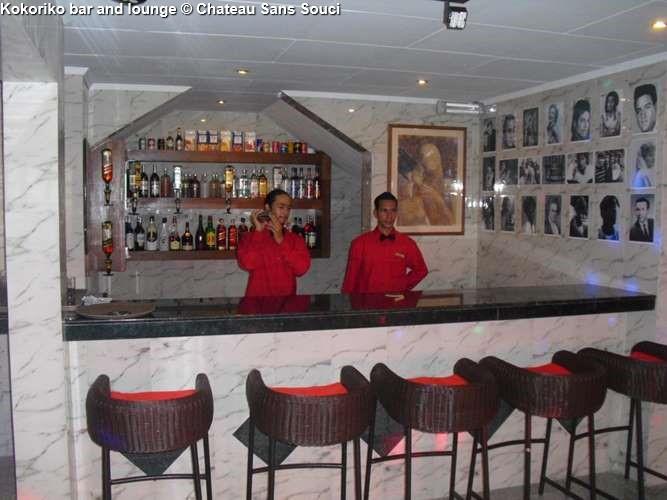 Kokoriko bar and lounge Château Sans Souci