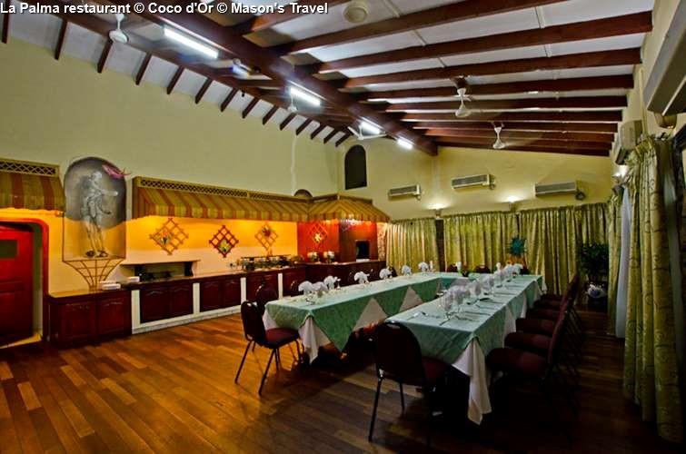La Palma restaurant Coco d'Or Hotel