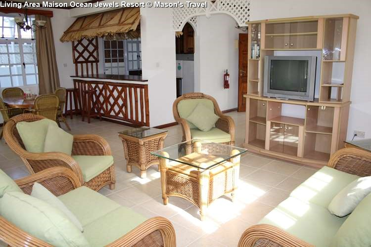 Living Area Maison Ocean Jewels Resort (Praslin)