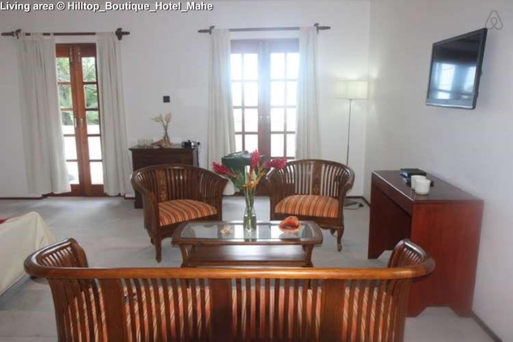 Living area © Hilltop_Boutique_Hotel_Mahe