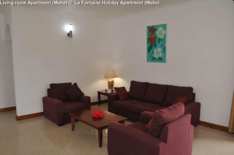 Living room Apartment (Mahe) © La Fontaine Holiday Apartment (Mahe)